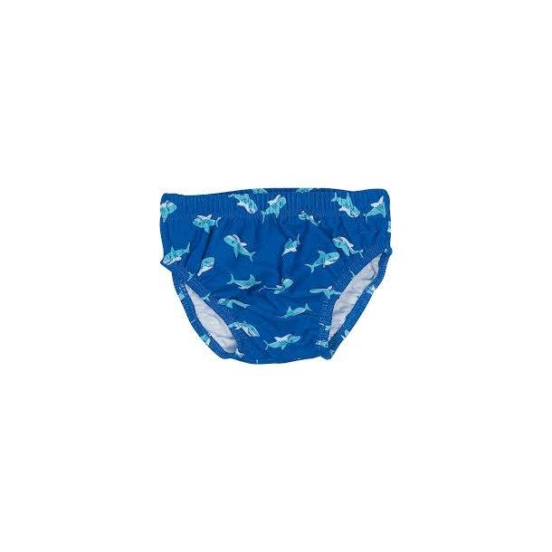Blöjbadbyxor från Playshoes - hajar UPF 80+