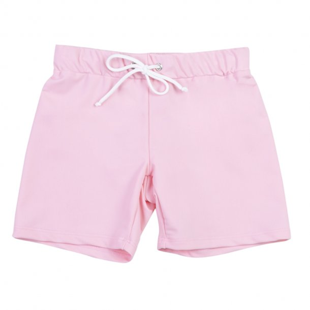Shorts, kort med resår, Soft rose