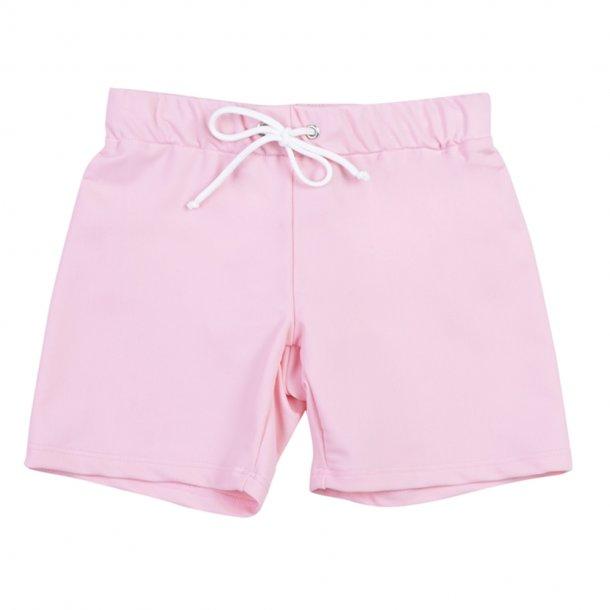 Shorts, kort med elastik, Soft rose