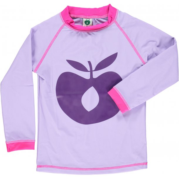 Langärmad uv t-shirt Småfolk Lila UPF 50+