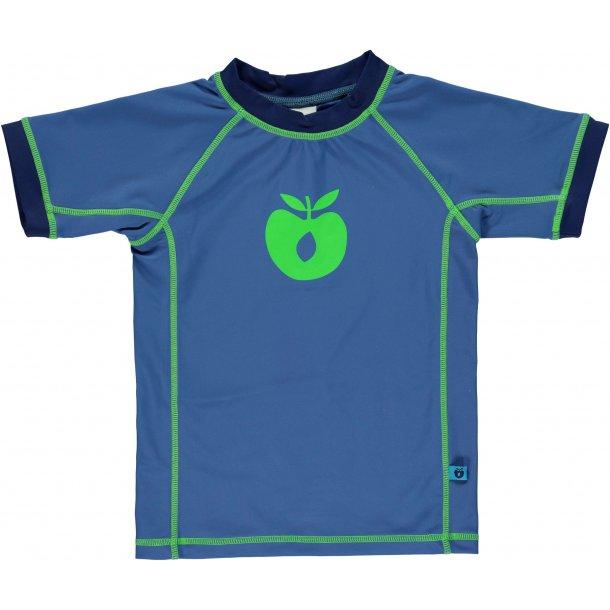 Småfolk t-shirt blå UPF 50+