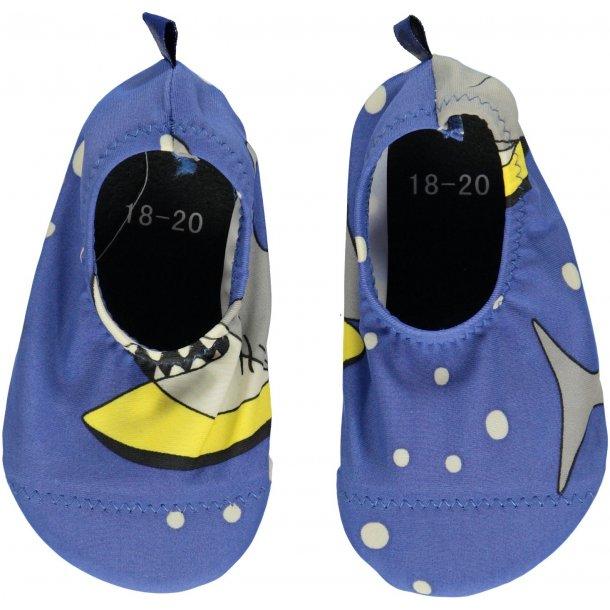 Småfolk swimshoes blue lolite UPF 50+