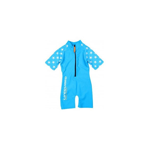 Sunsuit Smiling Shark Turkos UPF 50+
