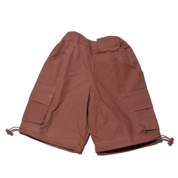 Snoozy skater shorts - brune