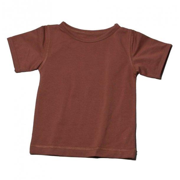 Snoozy brun t-shirt