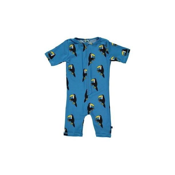 Småfolk uv badetøj blue tucan UPF 50+