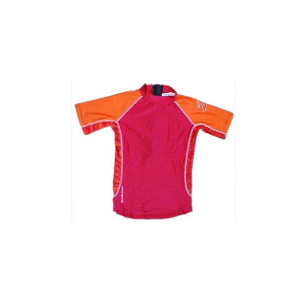 Rød/orange uv sæt (shorts og bluse) fra zunblock