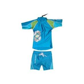 f5ae7fd2 Uv badetøy turkis sharkbite zunblock (shorts og t-skjorte)