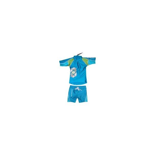 Suntop + shorts Sharkbite turquoise/hawaii
